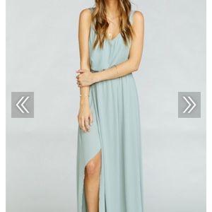 Show Me Your MuMu Kendall Maxi Dress Xl